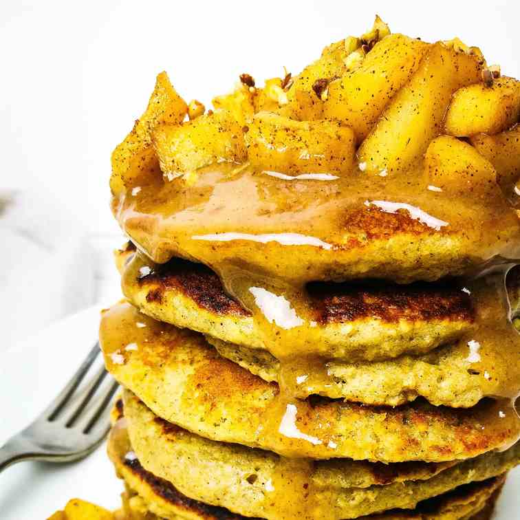 Toffee Apple Pancakes