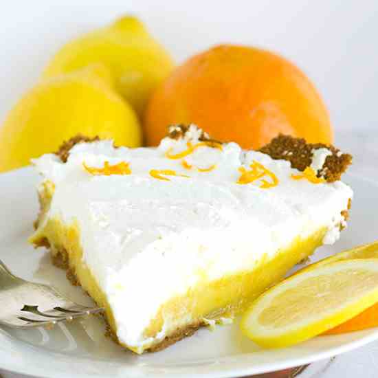 Tangerine Cream Pie
