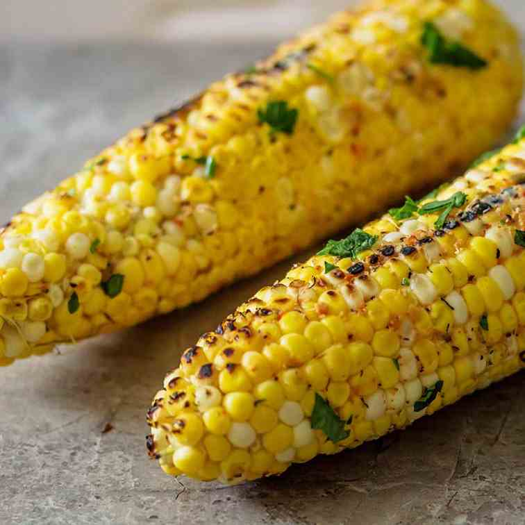 French Onion Grilled Corn On The Cob
