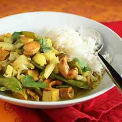 Cauliflower and Cashew Curry