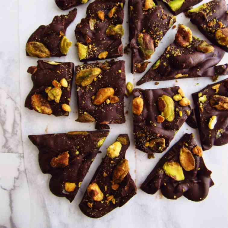 Easy Pistachio Bark