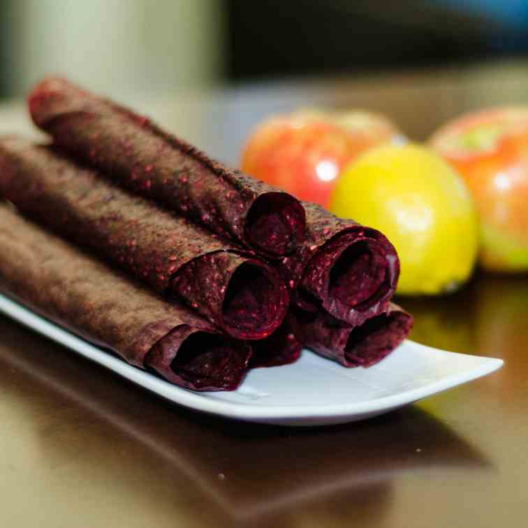 Mixed Berry Fruit Leather