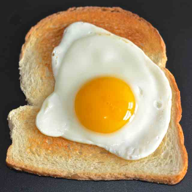 Healthy Fried Egg