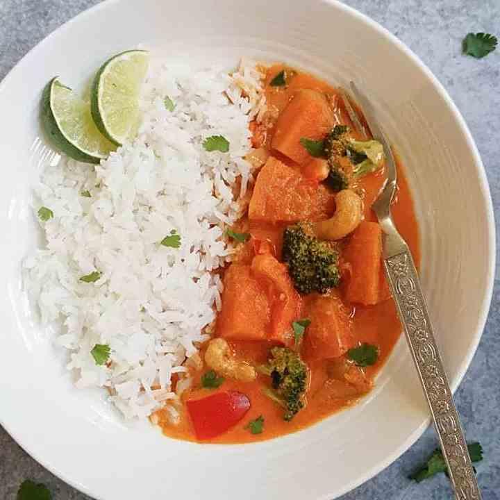 Thai Pumpkin Red Curry