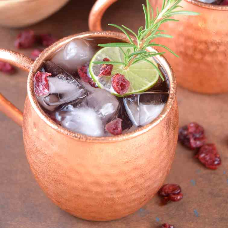 Cranberry Moscow Mule