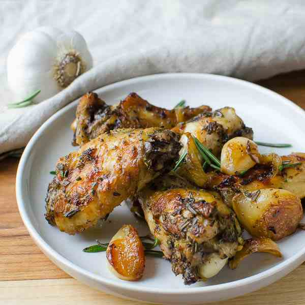 Rosemary Garlic Chicken Wings