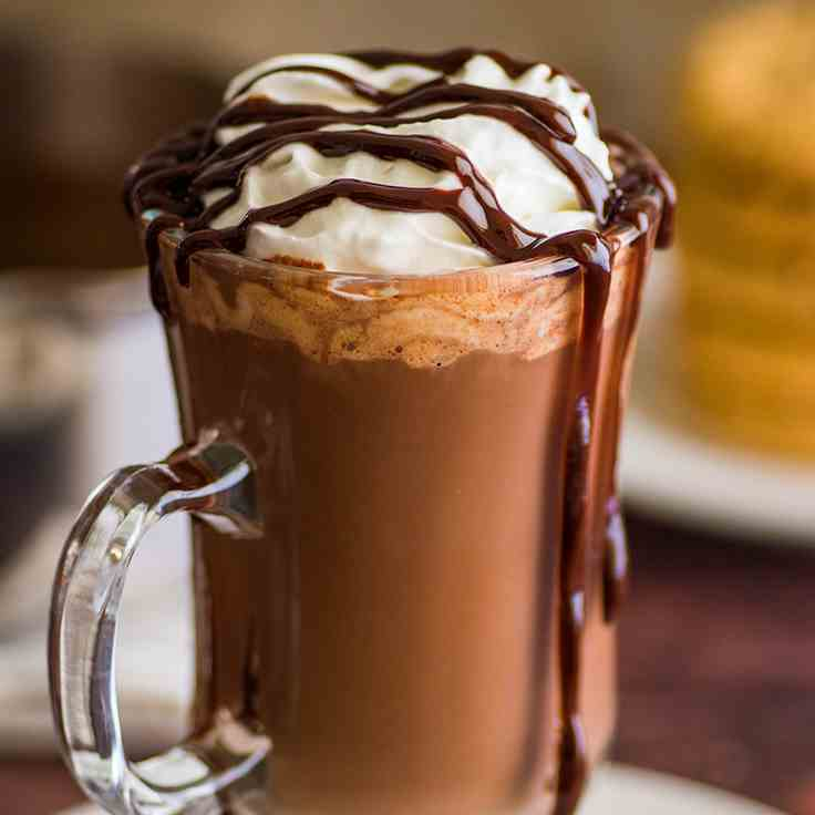 Rich and Thick Hot Chocolate for One