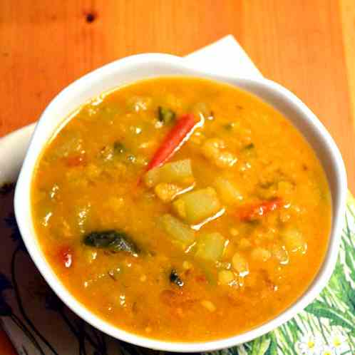 Chow Chow (Chayote) Dal