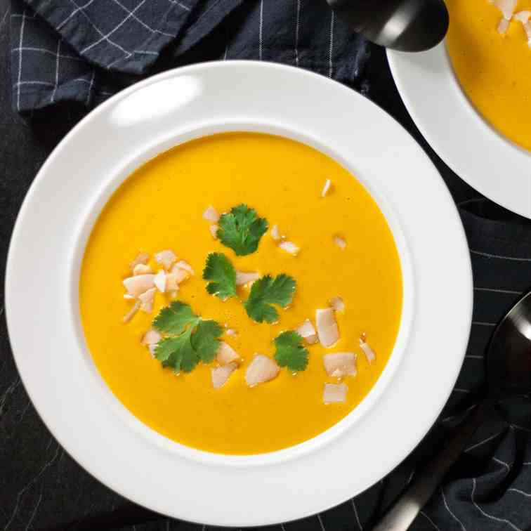Coconut - Lentil Soup