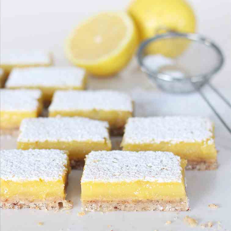 Easy, Dairy-Free Lemon Bars