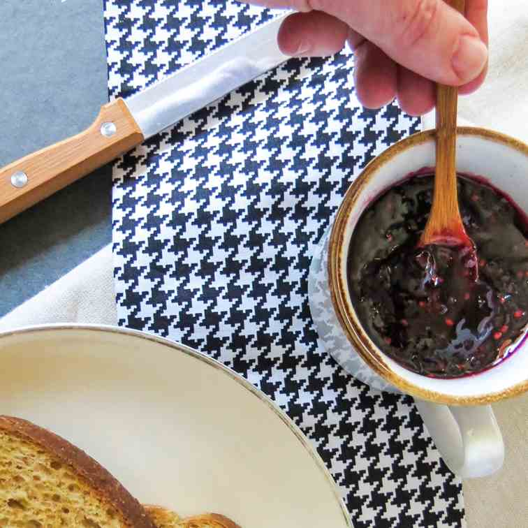 Blackberry Tarragon Homemade Jam