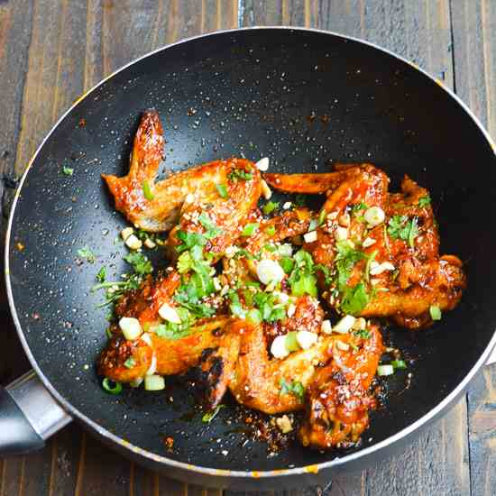 Spicy Asian Wings