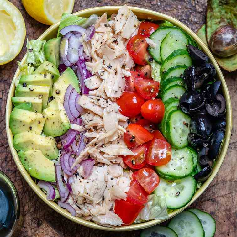 Avocado Tuna Salad (Paleo-Keto-Whole30)