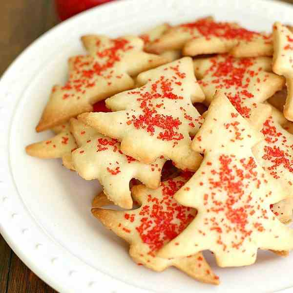 Easy Shortbread Cookies