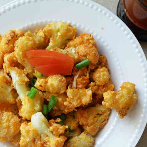 Cauliflower Golden Fry