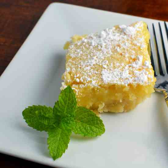Luscious Lemon Bars
