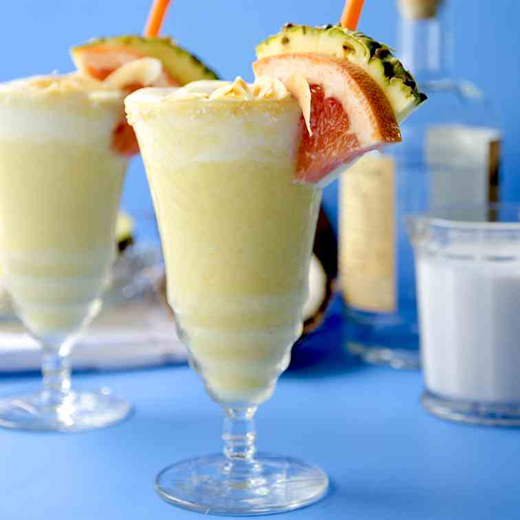 Pina Coladas from Scratch