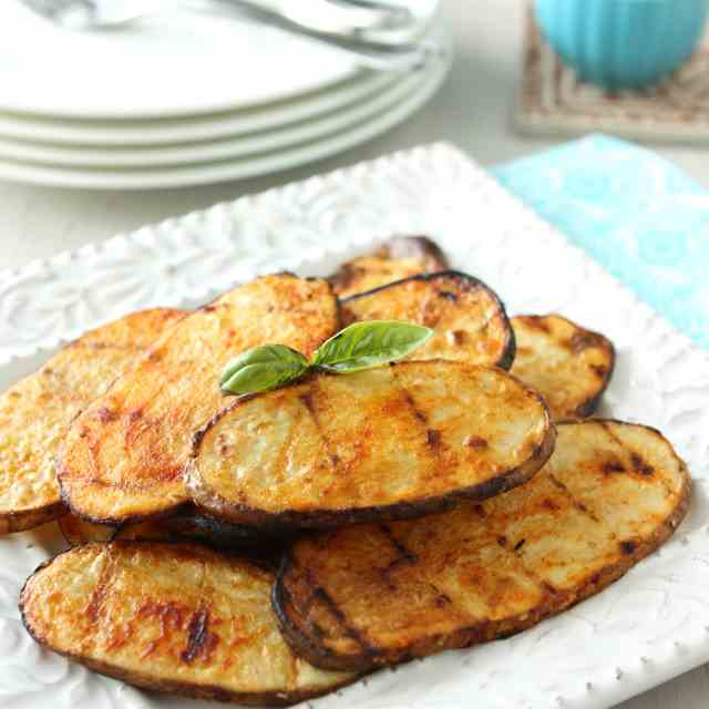 Grilled Potatoes with Smoked Paprika