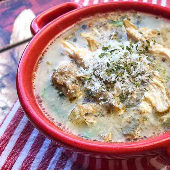 Chicken Florentine Soup Recipe