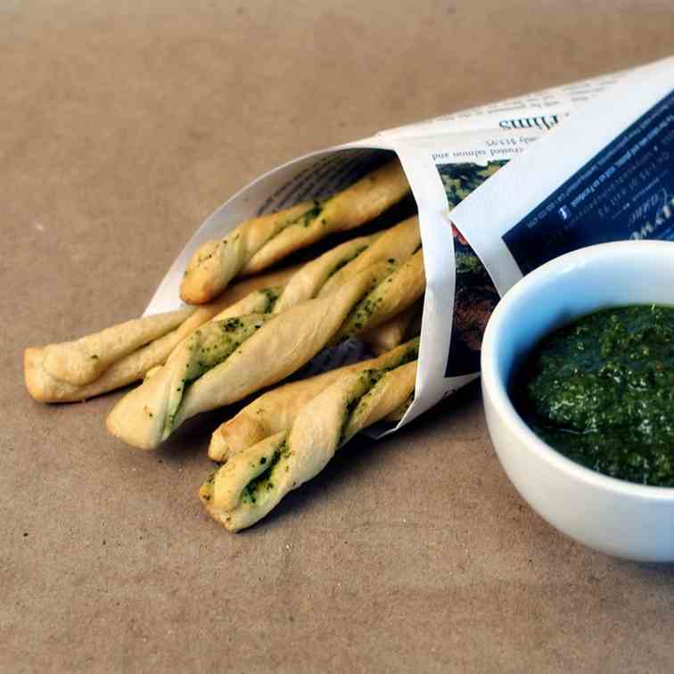 Pesto Sticks