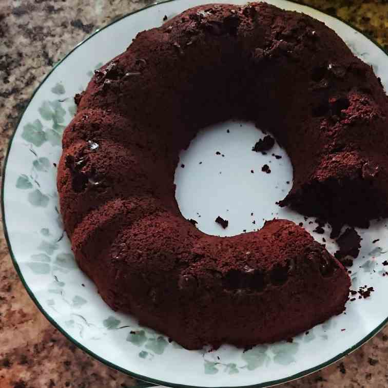 Allergy Friendly Bundt Brownies - Egg Free