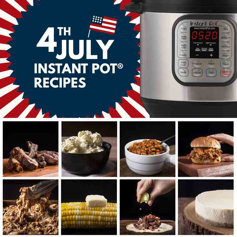 Instant Pot 4th of July Recipes