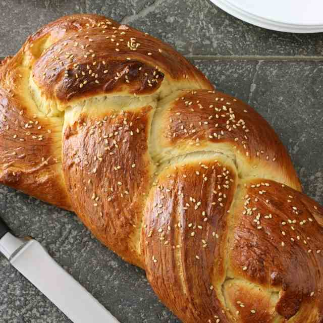 Challah Bread for Hanukkah