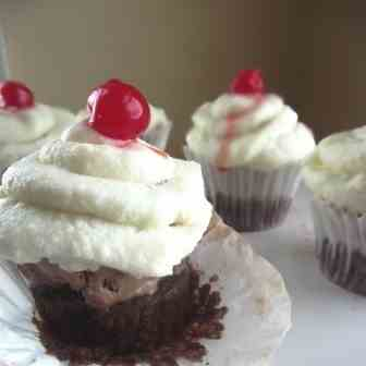 Brownie ice cream cupcakes