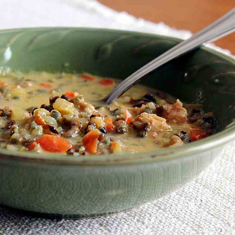 Minnesota Wild Rice Soup