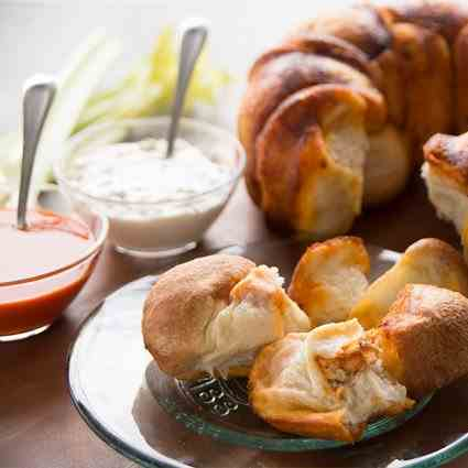 Buffalo Chicken Bundt