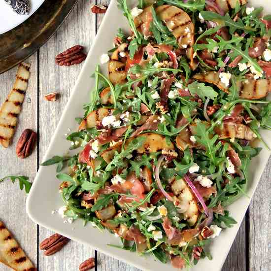 Pear, Prosciutto And Arugula Salad