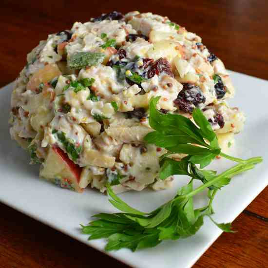 Apple Cranberry Chicken Salad