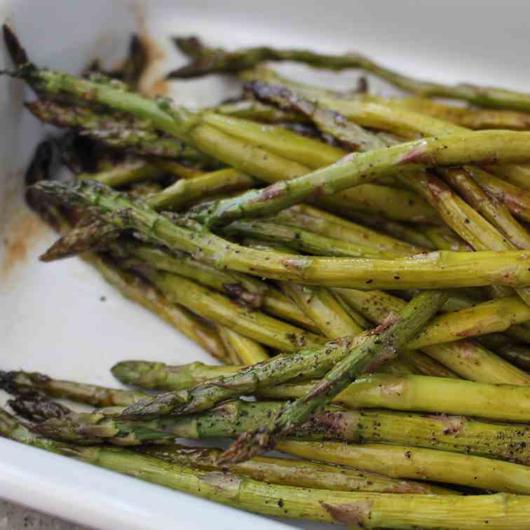 Roasted Asparagus with Balsamic