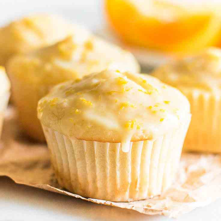 Small-batch Orange Muffins