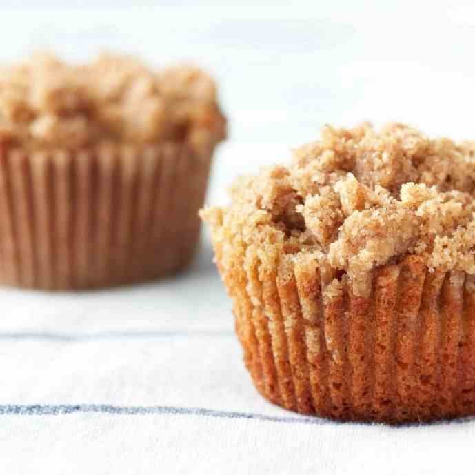 Banana Crumb Muffin Recipe