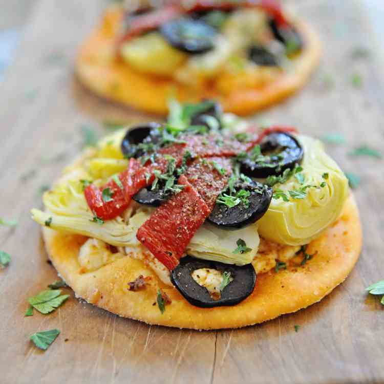 Spanish Mini Pizzas