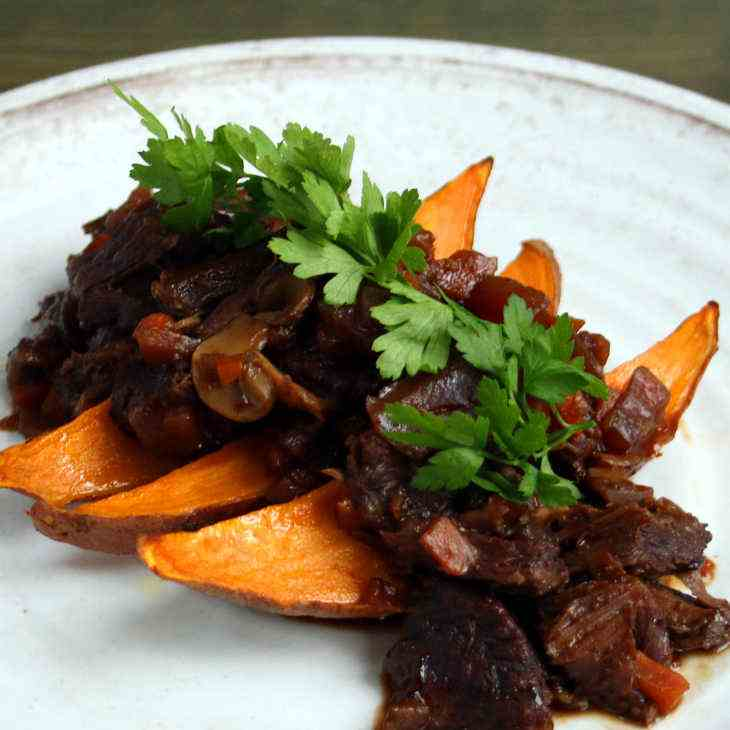 AIP Slow Cooker Brisket, Carrot and Beet C