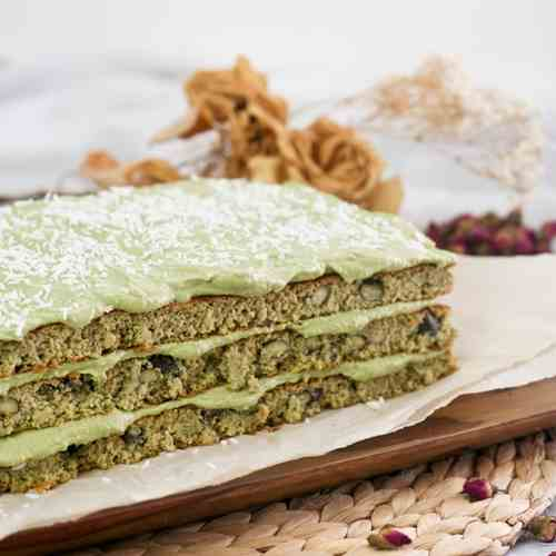 Heavenly Healthy Matcha Green Tea Cake