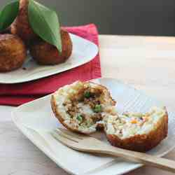 How to Make Arancine con Ragù