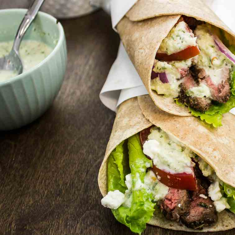 Steak Gyro Wrap