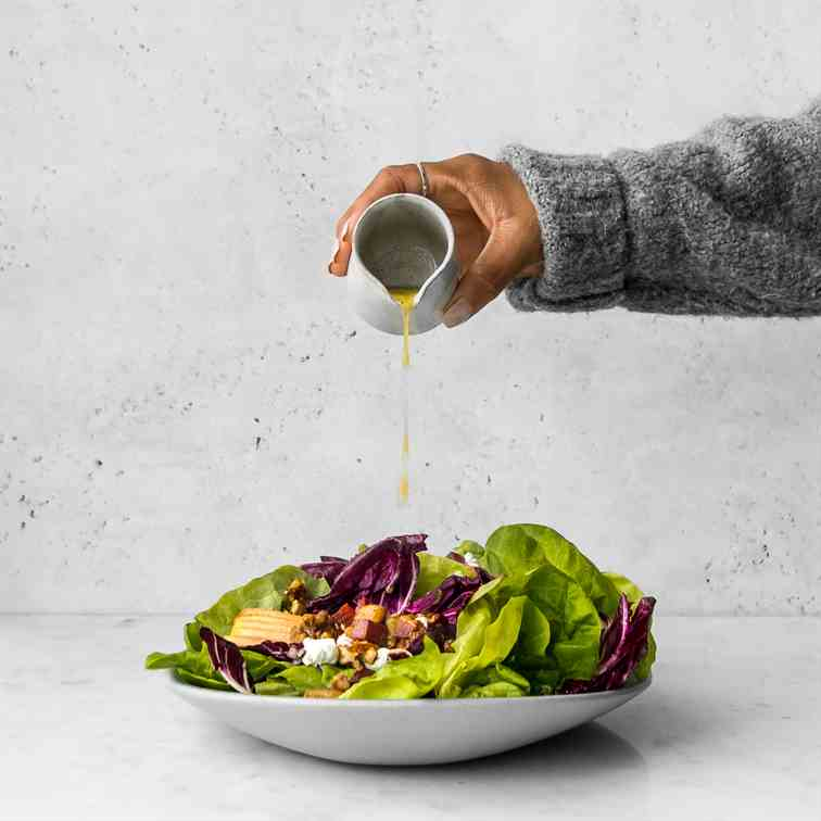 Butter Lettuce and Radicchio Salad