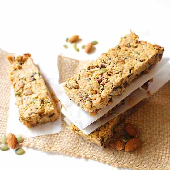 Trail Mix Energy Bars