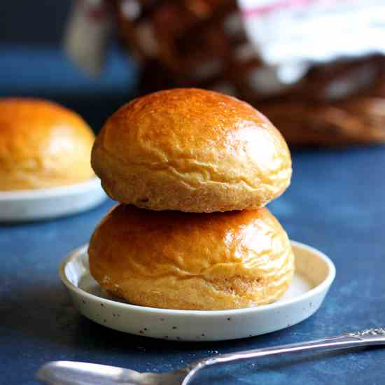 Sweet Potato Dinner Rolls