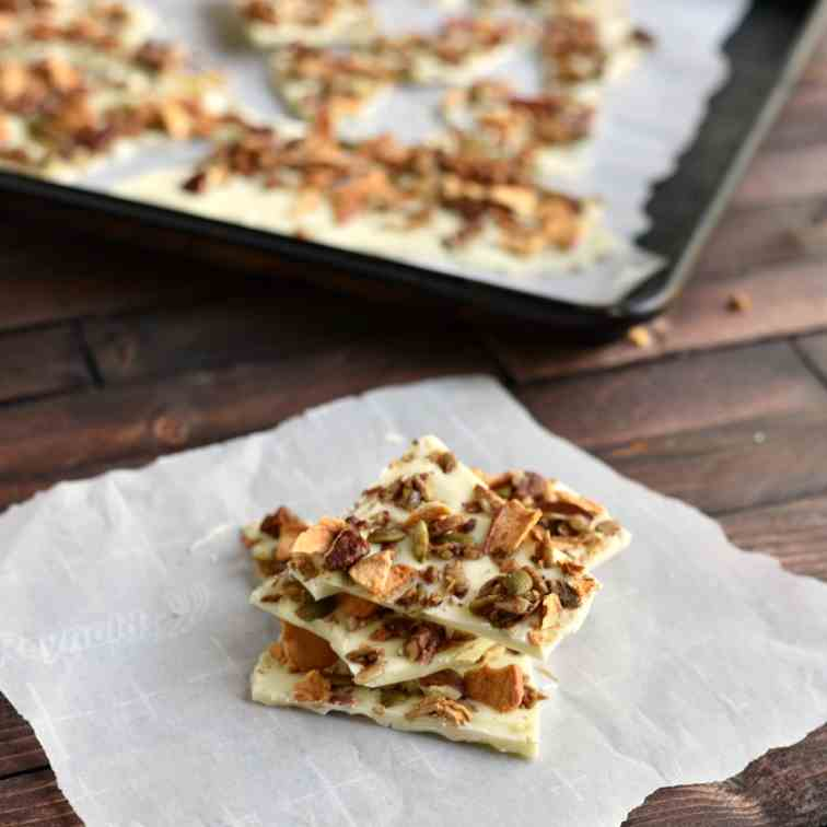 Apple Cinnamon Granola White Chocolate Bar
