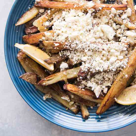 Baked Greek Feta Fries