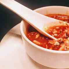 Chicken hot - sour soup recipe