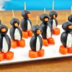 Cream Cheese Party Penguins