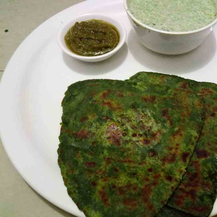 Bathua Paratha Recipe