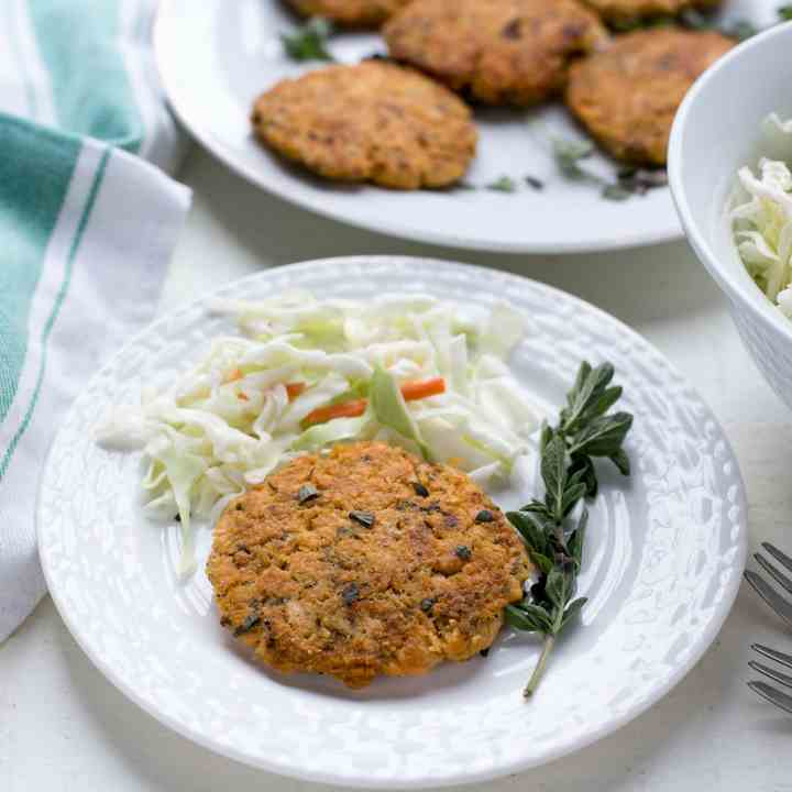 Keto Salmon Patties