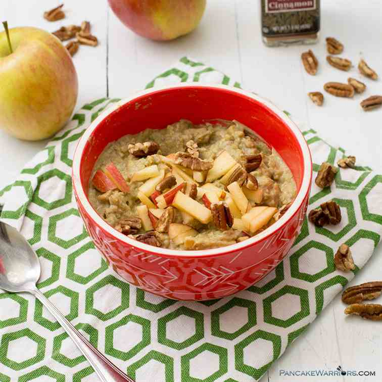 Apple Cinnamon Cauliflower Oats